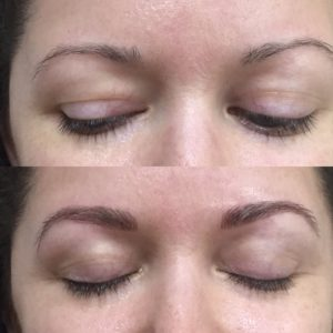 Before and After Microblading!
